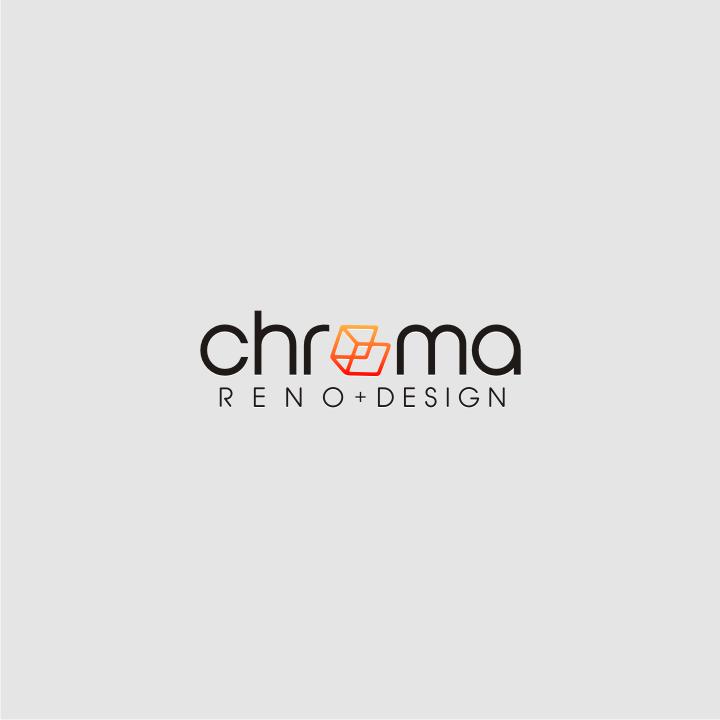 Logo Design by graphicleaf - Entry No. 234 in the Logo Design Contest Inspiring Logo Design for Chroma Reno+Design.