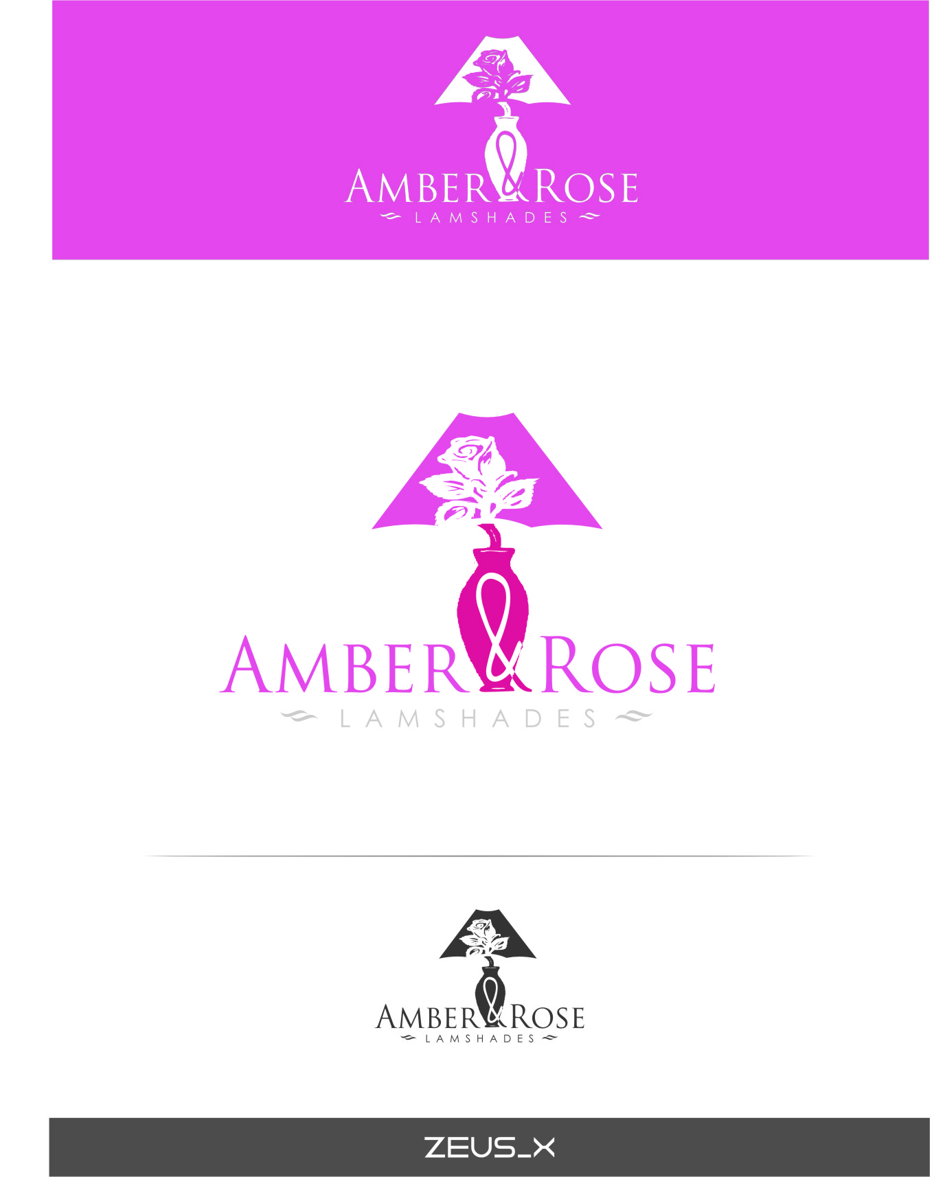 Logo Design by RoSyid Rono-Rene On Java - Entry No. 40 in the Logo Design Contest Creative Logo Design for Amber & Rose.