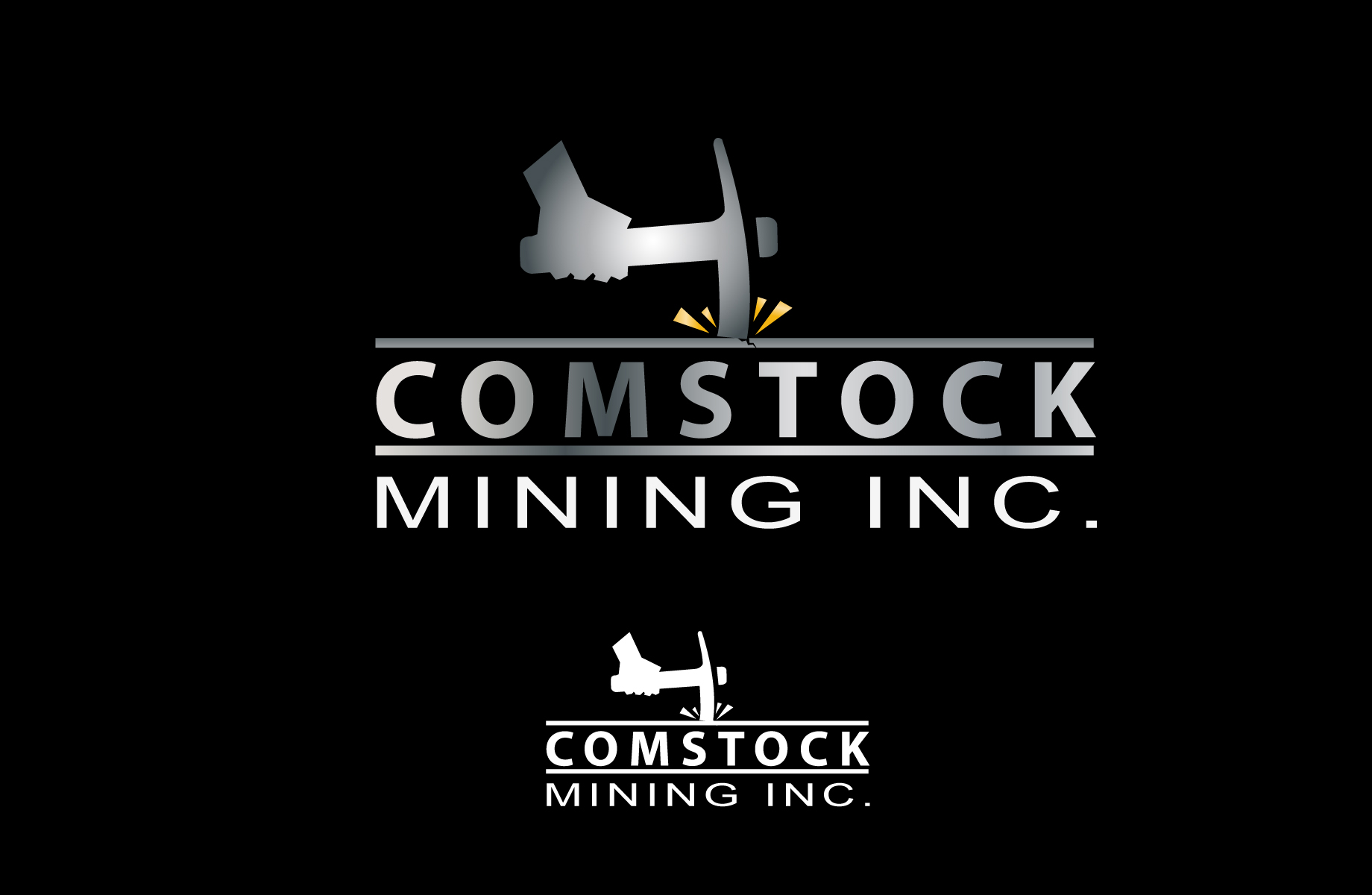Logo Design by Jan Chua - Entry No. 121 in the Logo Design Contest Captivating Logo Design for Comstock Mining, Inc..