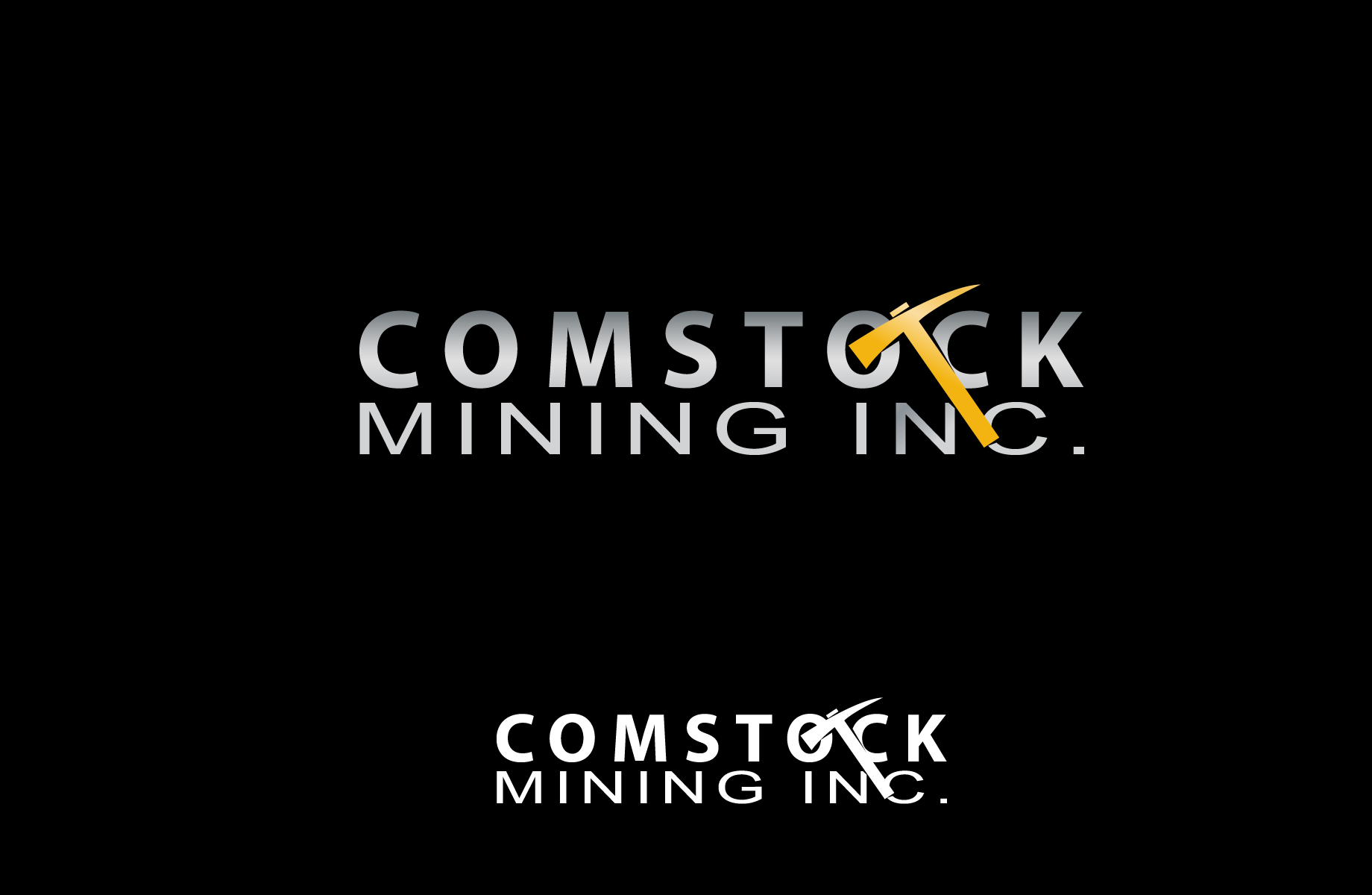 Logo Design by Jan Chua - Entry No. 125 in the Logo Design Contest Captivating Logo Design for Comstock Mining, Inc..