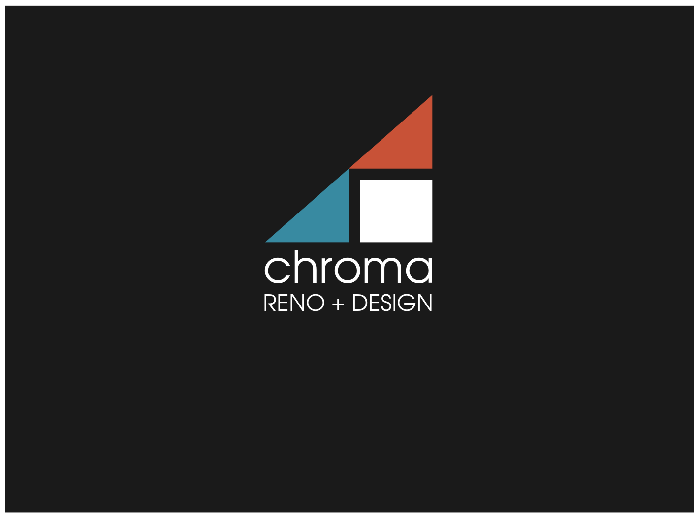 Logo Design by JaroslavProcka - Entry No. 235 in the Logo Design Contest Inspiring Logo Design for Chroma Reno+Design.