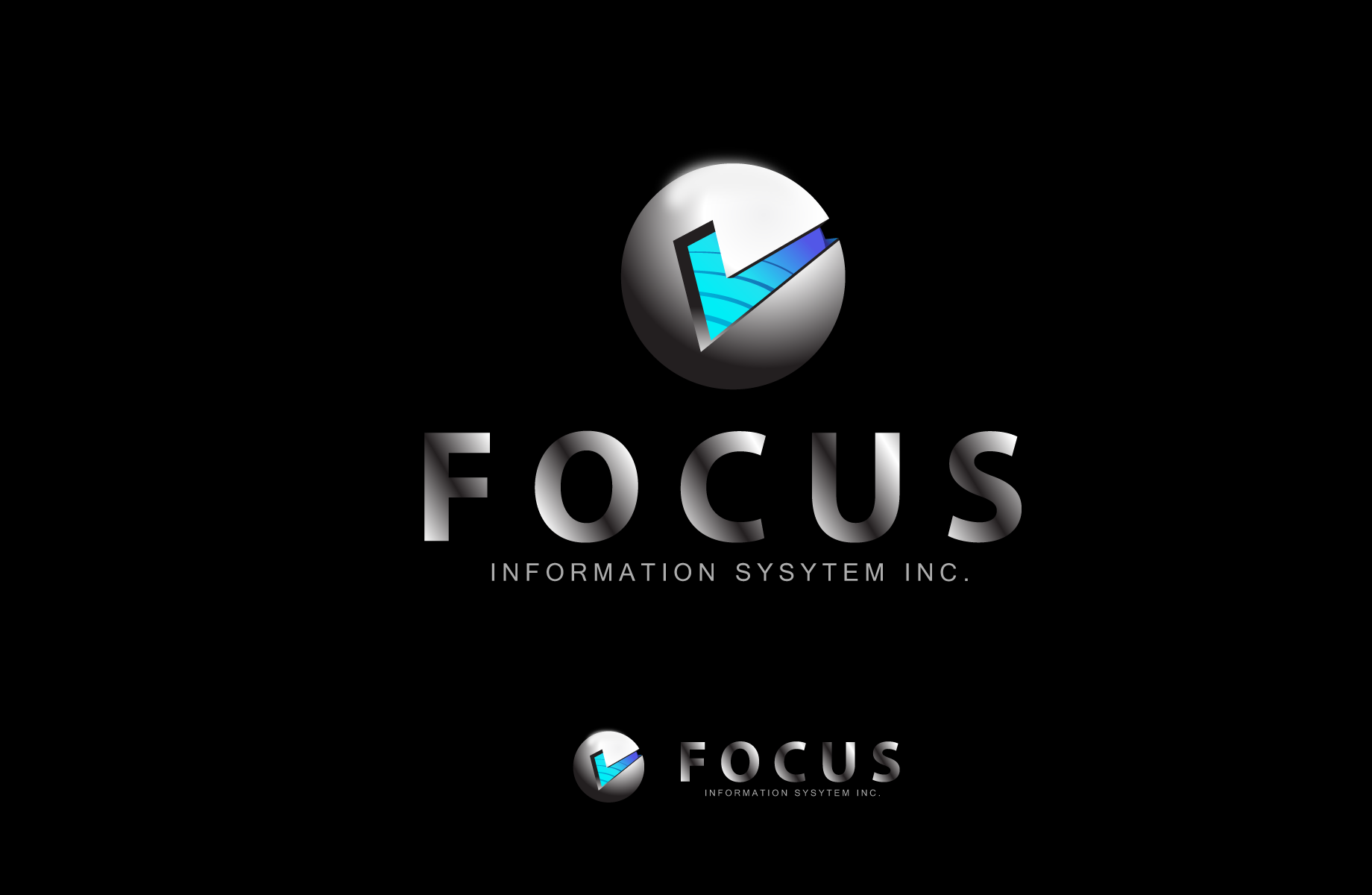 Logo Design by Jan Chua - Entry No. 23 in the Logo Design Contest Artistic Logo Design for Focus Information Systems, Inc..