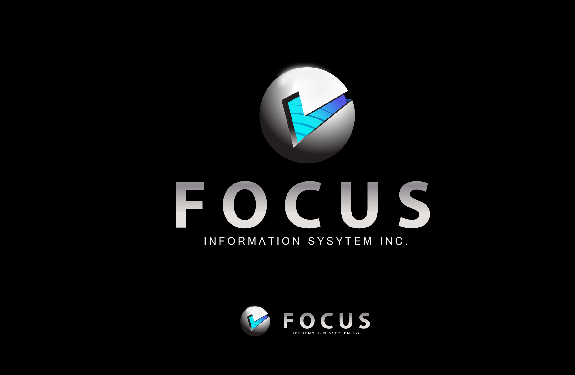 Logo Design by Jan Chua - Entry No. 24 in the Logo Design Contest Artistic Logo Design for Focus Information Systems, Inc..