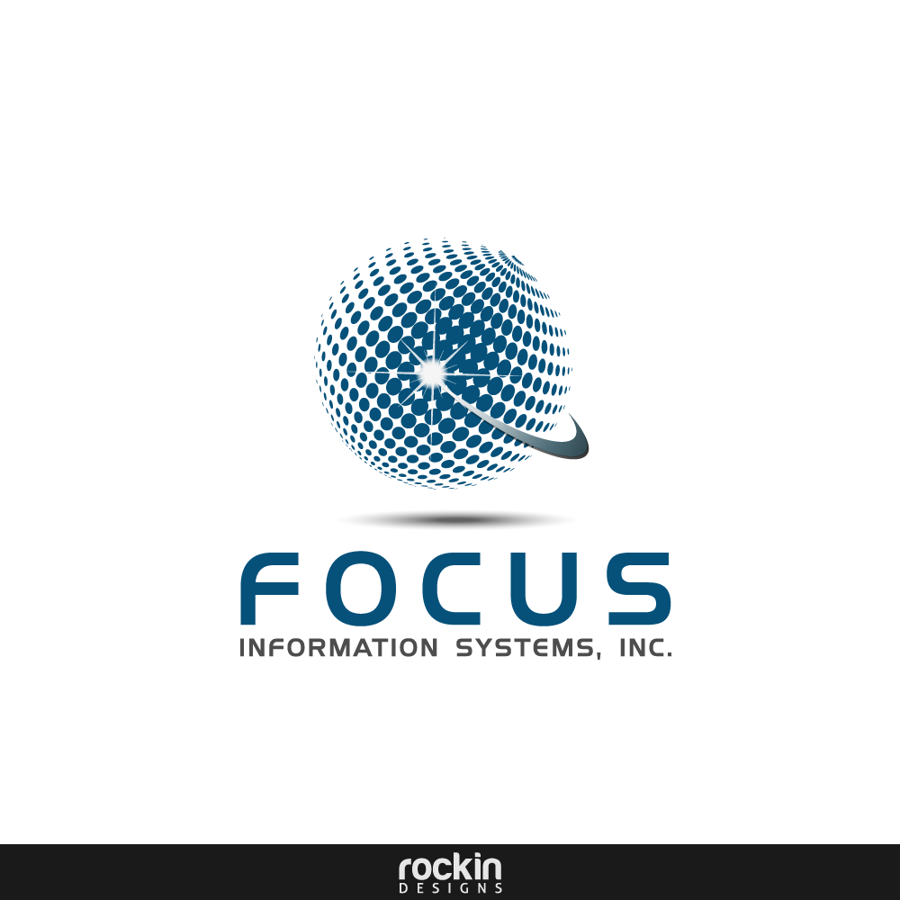 Logo Design by rockin - Entry No. 27 in the Logo Design Contest Artistic Logo Design for Focus Information Systems, Inc..