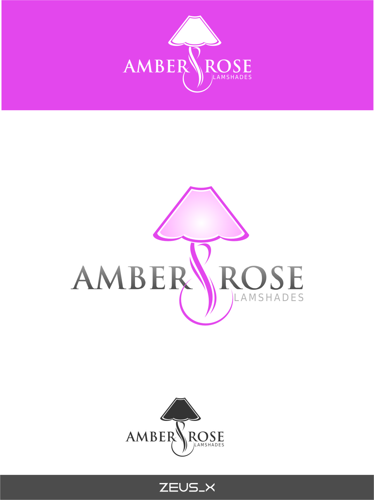 Logo Design by RasYa Muhammad Athaya - Entry No. 41 in the Logo Design Contest Creative Logo Design for Amber & Rose.
