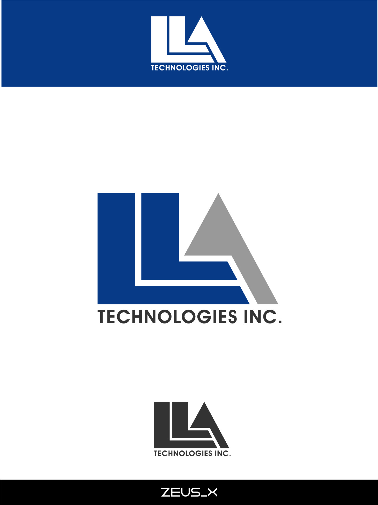 Logo Design by RasYa Muhammad Athaya - Entry No. 173 in the Logo Design Contest Inspiring Logo Design for LLA Technologies Inc..
