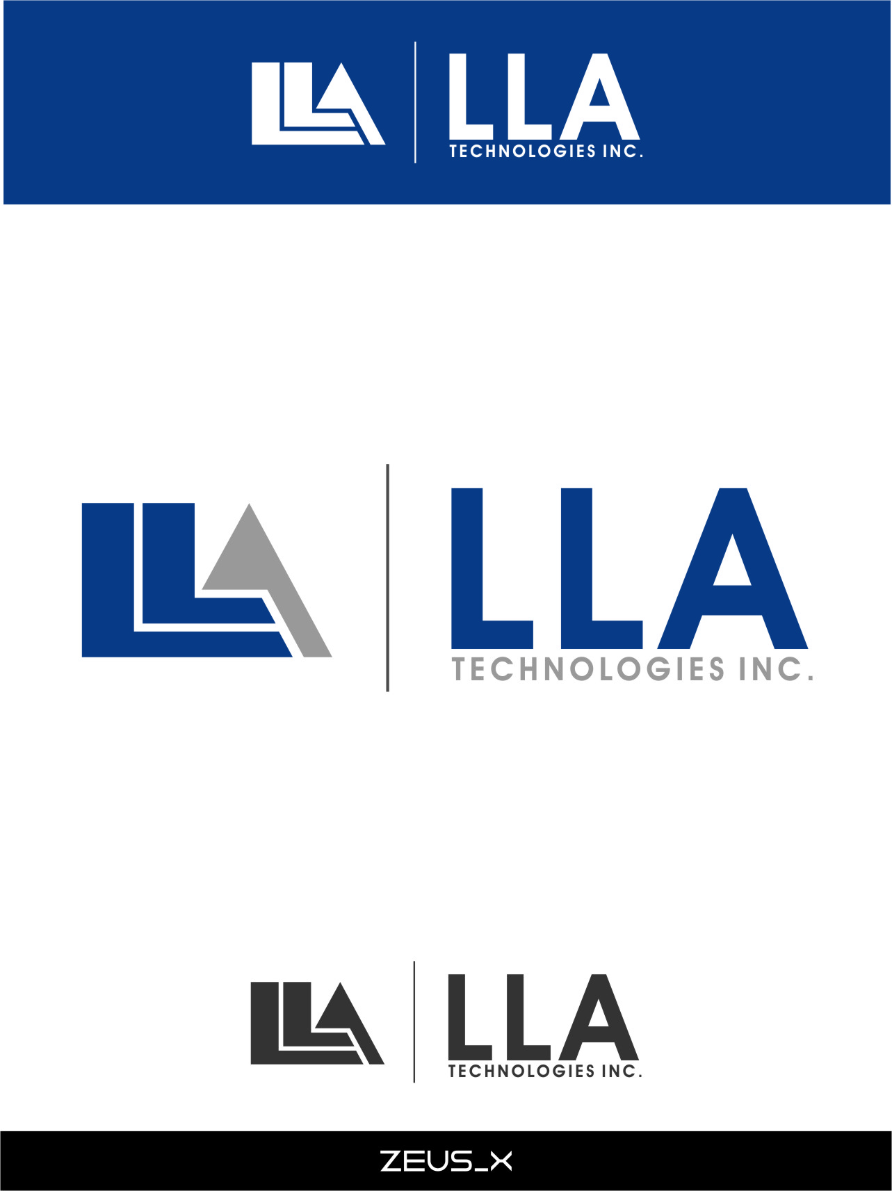 Logo Design by RasYa Muhammad Athaya - Entry No. 174 in the Logo Design Contest Inspiring Logo Design for LLA Technologies Inc..