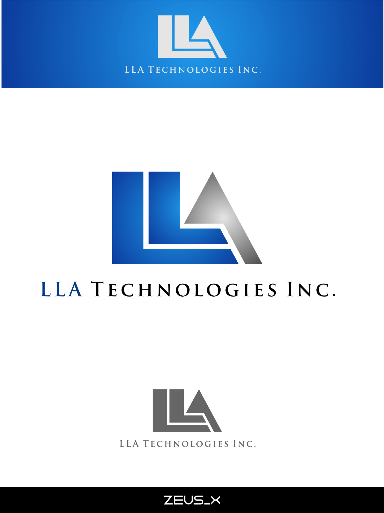 Logo Design by RoSyid Rono-Rene On Java - Entry No. 175 in the Logo Design Contest Inspiring Logo Design for LLA Technologies Inc..