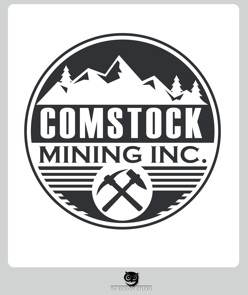 Logo Design by Private User - Entry No. 133 in the Logo Design Contest Captivating Logo Design for Comstock Mining, Inc..