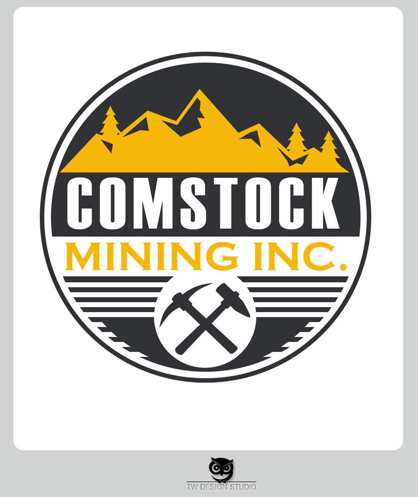 Logo Design by Private User - Entry No. 134 in the Logo Design Contest Captivating Logo Design for Comstock Mining, Inc..
