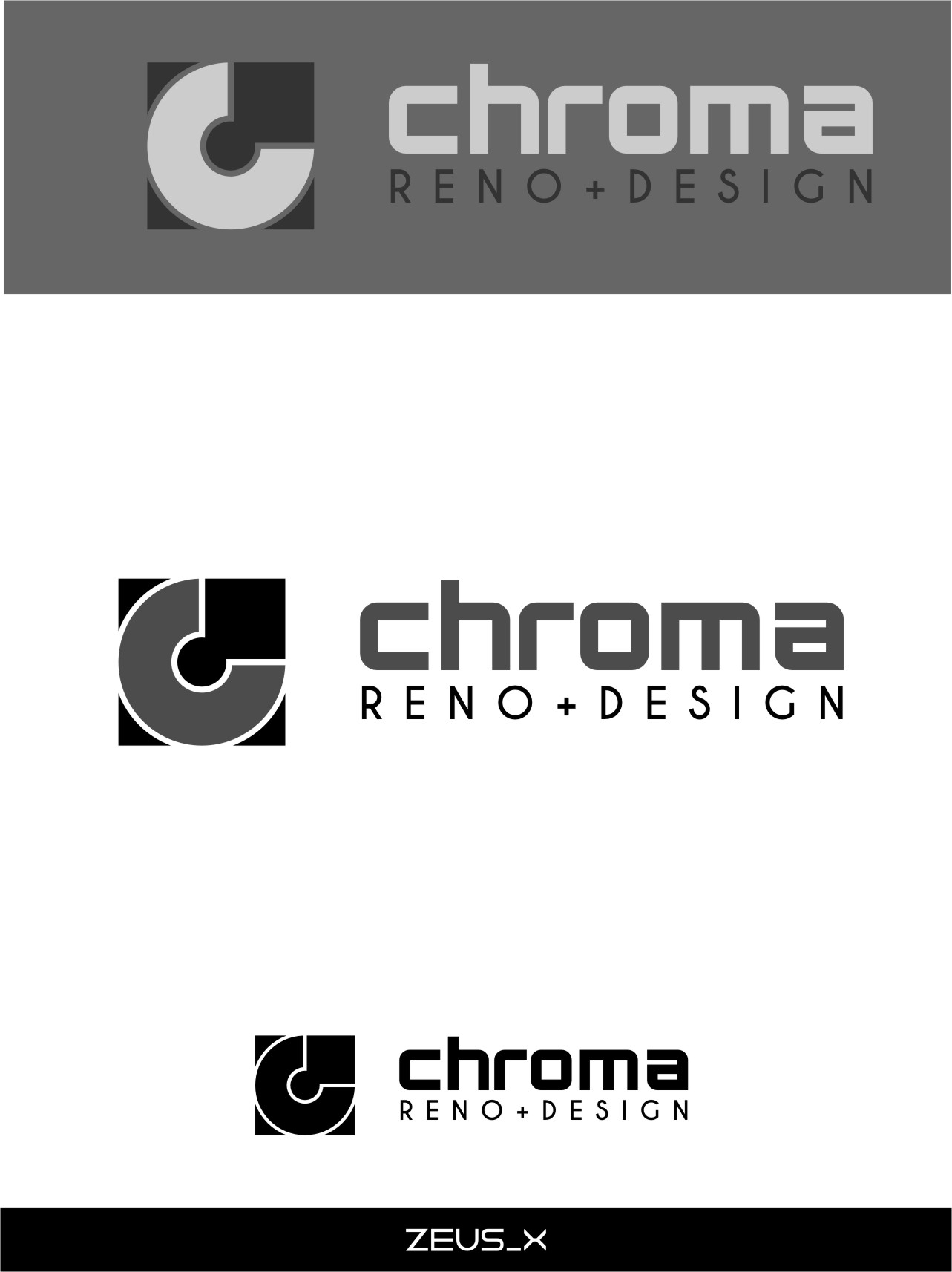 Logo Design by RasYa Muhammad Athaya - Entry No. 236 in the Logo Design Contest Inspiring Logo Design for Chroma Reno+Design.