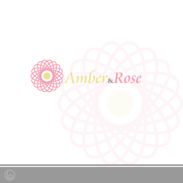 Logo Design by lumerb - Entry No. 42 in the Logo Design Contest Creative Logo Design for Amber & Rose.