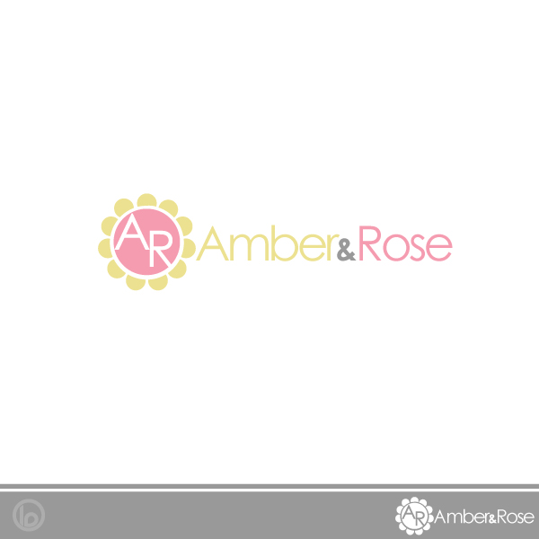Logo Design by lumerb - Entry No. 43 in the Logo Design Contest Creative Logo Design for Amber & Rose.