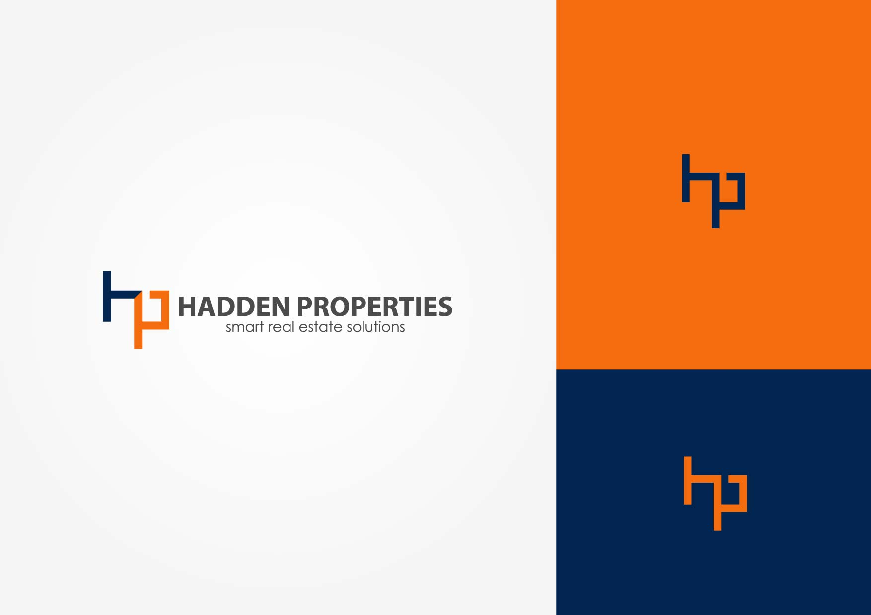 Logo Design by Osi Indra - Entry No. 182 in the Logo Design Contest Artistic Logo Design for Hadden Properties.
