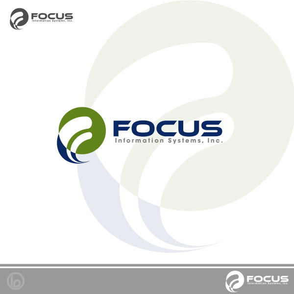 Logo Design by lumerb - Entry No. 32 in the Logo Design Contest Artistic Logo Design for Focus Information Systems, Inc..
