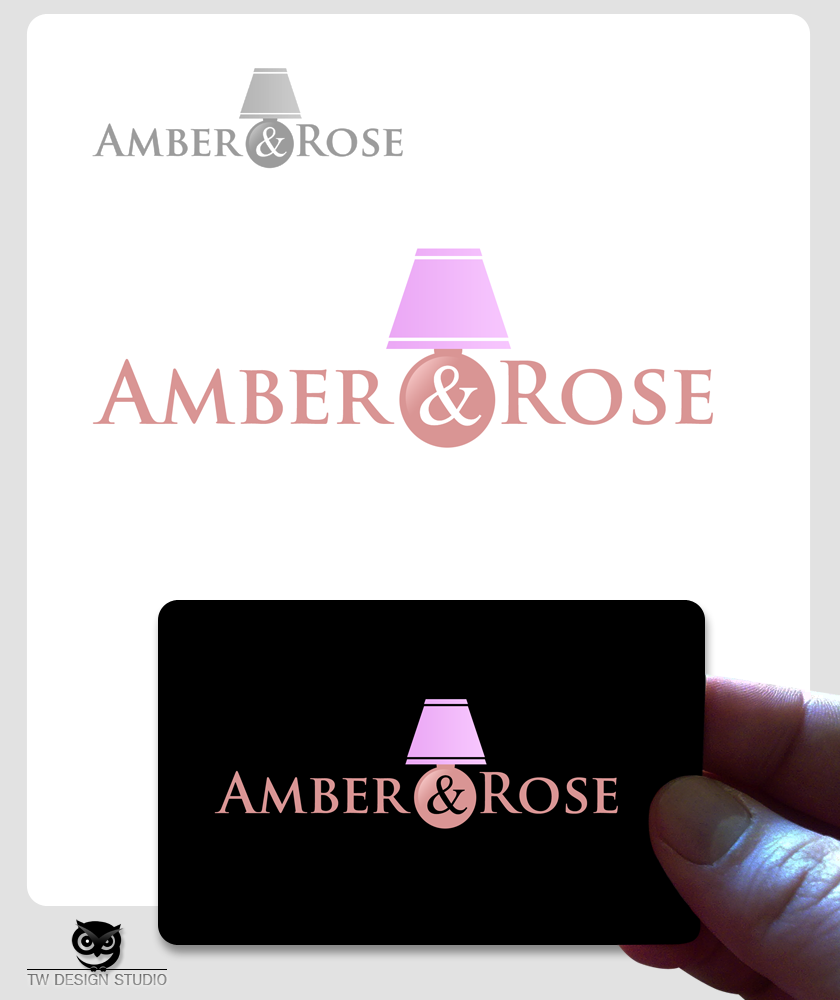 Logo Design by Private User - Entry No. 44 in the Logo Design Contest Creative Logo Design for Amber & Rose.