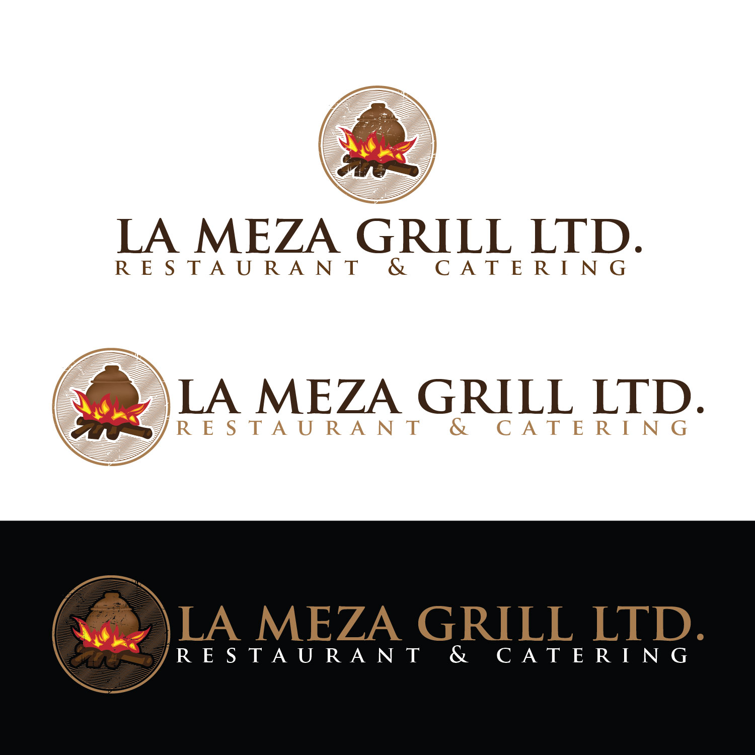 Logo Design by lagalag - Entry No. 76 in the Logo Design Contest Inspiring Logo Design for La Meza Grill Ltd..