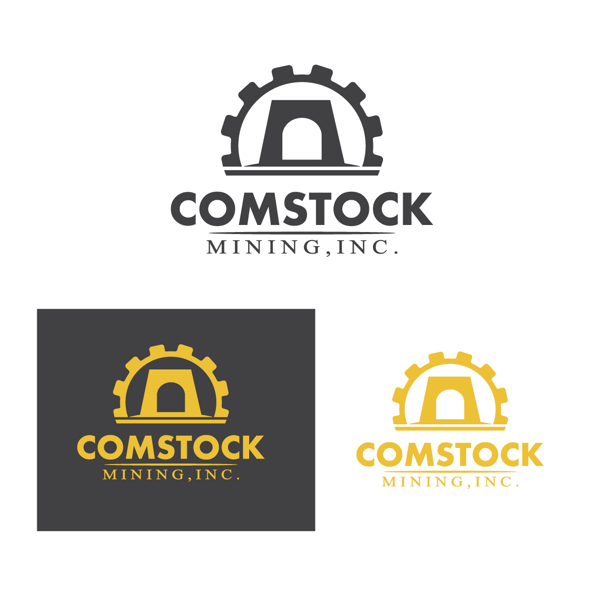 Logo Design by danelav - Entry No. 143 in the Logo Design Contest Captivating Logo Design for Comstock Mining, Inc..