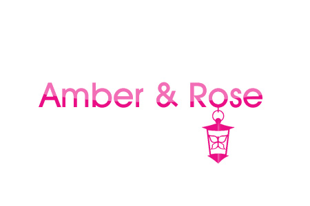 Logo Design by Crystal Desizns - Entry No. 49 in the Logo Design Contest Creative Logo Design for Amber & Rose.