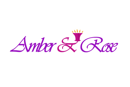 Logo Design by Crystal Desizns - Entry No. 52 in the Logo Design Contest Creative Logo Design for Amber & Rose.