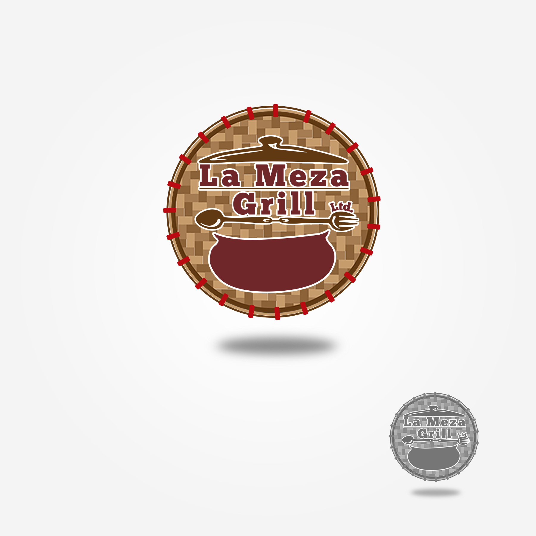Logo Design by Lemuel Arvin Tanzo - Entry No. 80 in the Logo Design Contest Inspiring Logo Design for La Meza Grill Ltd..