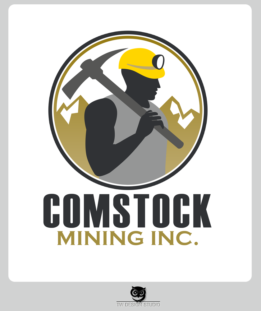 Logo Design by Private User - Entry No. 147 in the Logo Design Contest Captivating Logo Design for Comstock Mining, Inc..