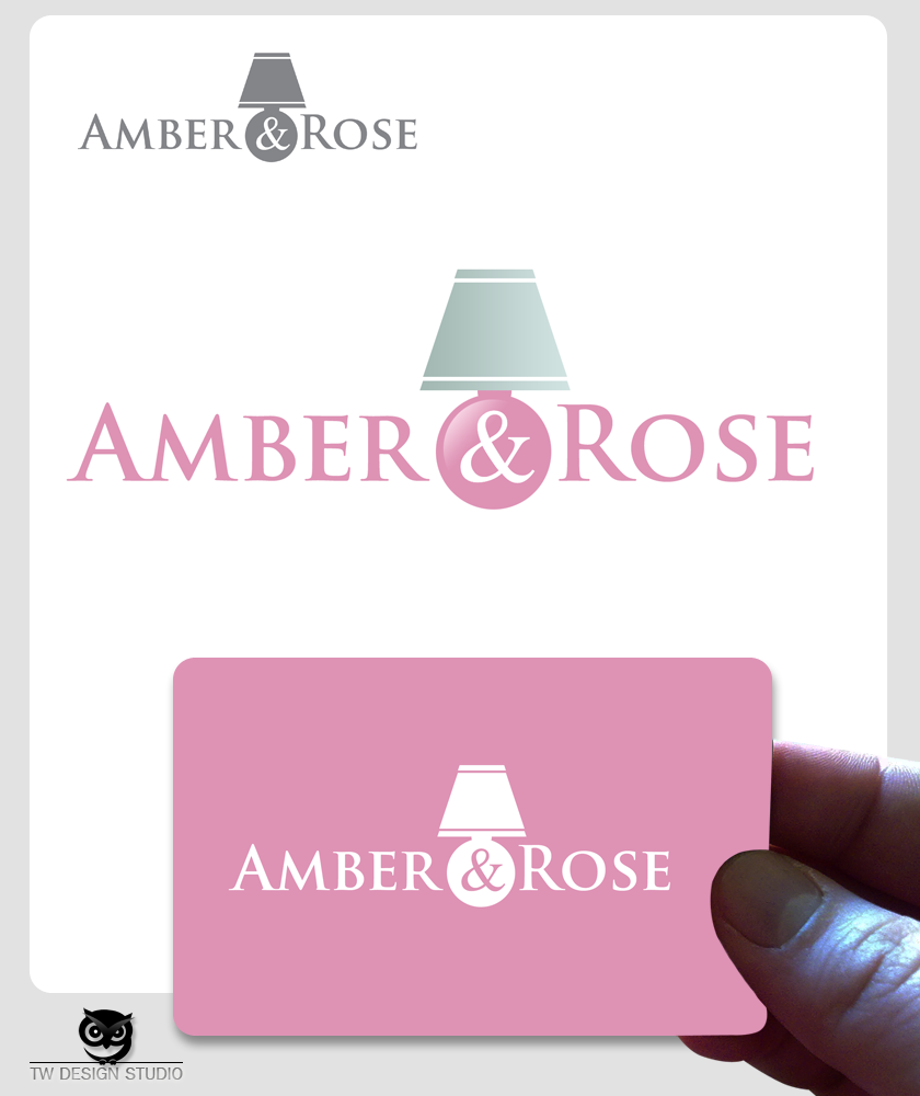 Logo Design by Private User - Entry No. 53 in the Logo Design Contest Creative Logo Design for Amber & Rose.