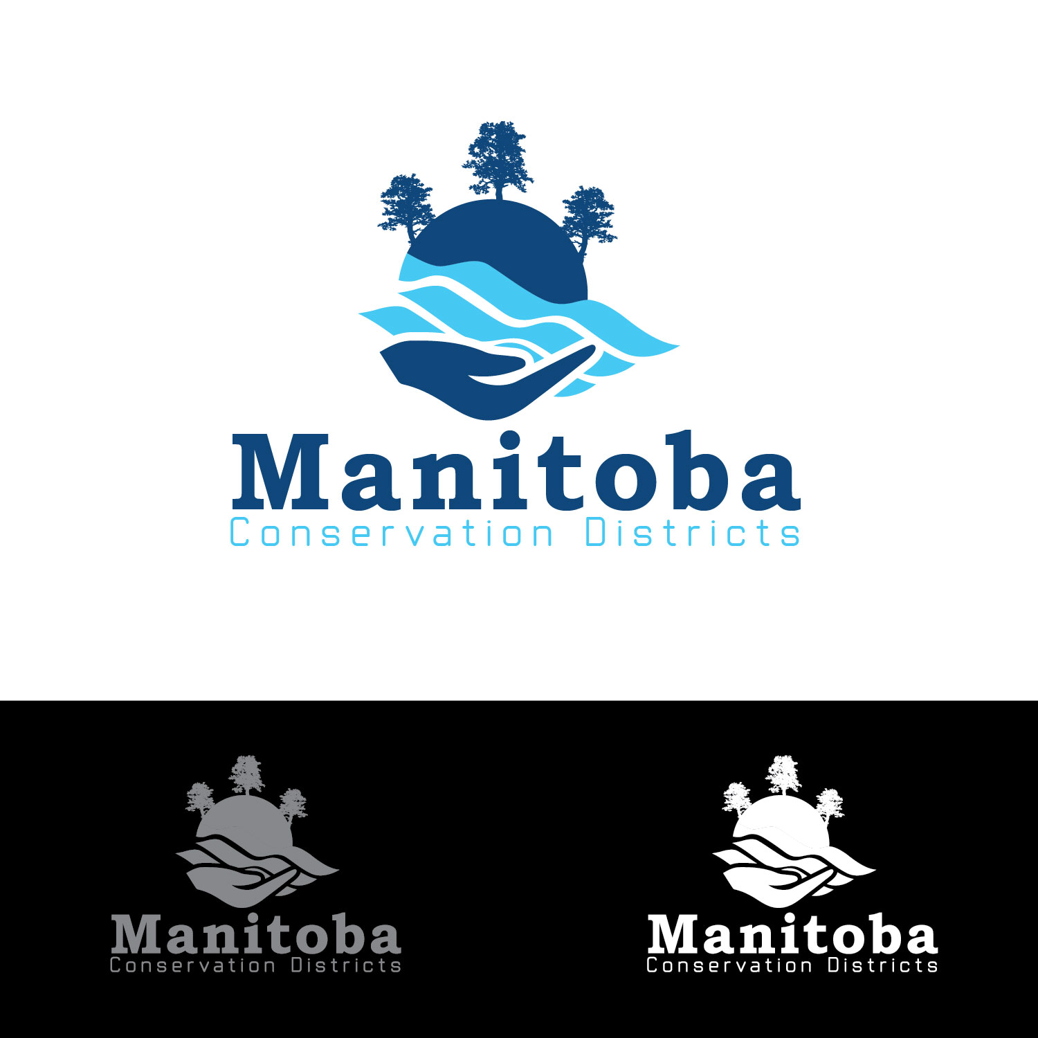 Logo Design by lagalag - Entry No. 4 in the Logo Design Contest Manitoba Conservation Districts Logo Design.
