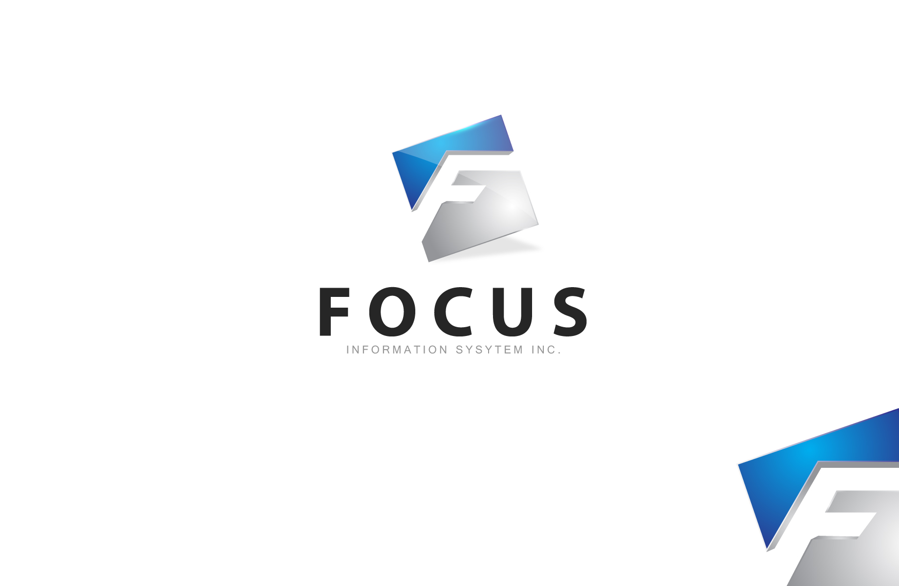 Logo Design by Jan Chua - Entry No. 35 in the Logo Design Contest Artistic Logo Design for Focus Information Systems, Inc..