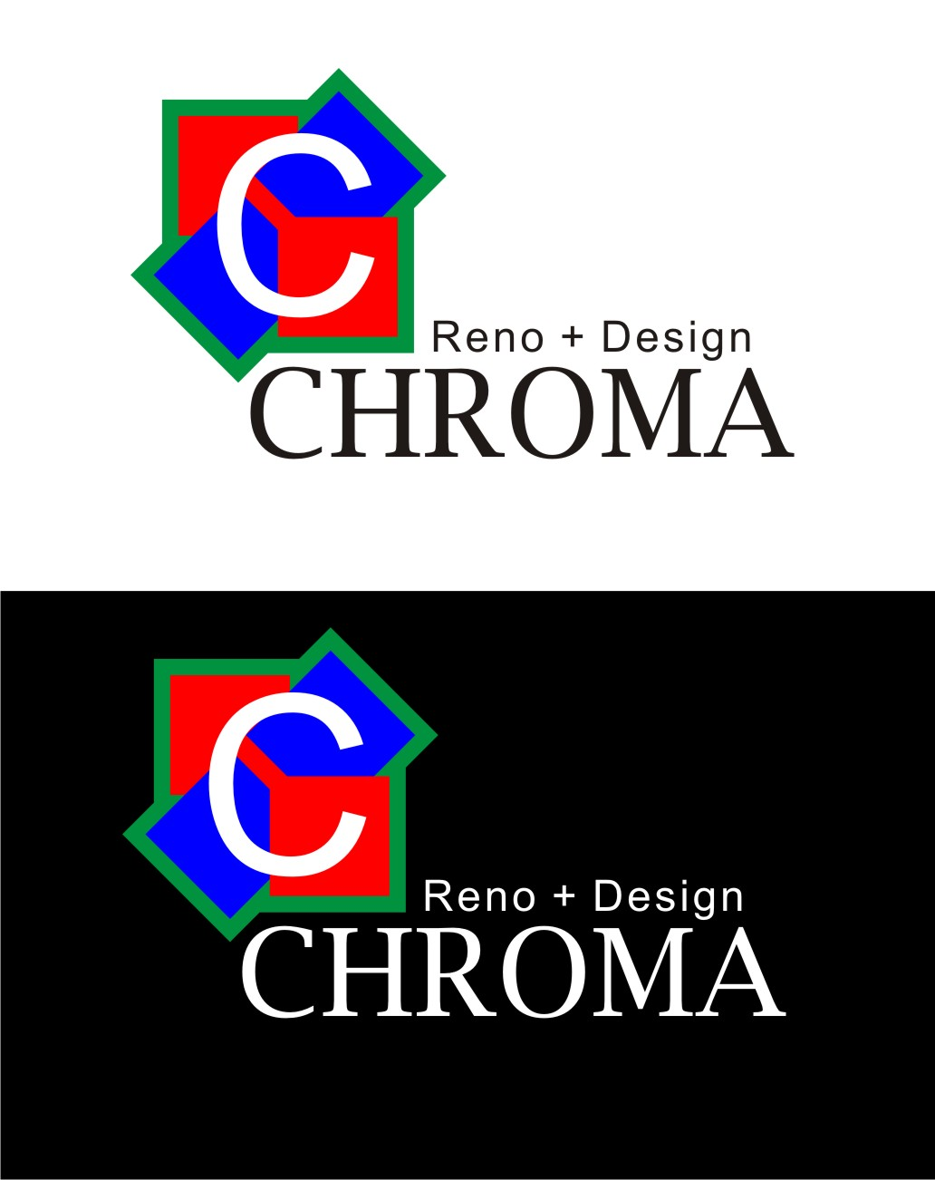 Logo Design by Yuda Hermawan - Entry No. 238 in the Logo Design Contest Inspiring Logo Design for Chroma Reno+Design.