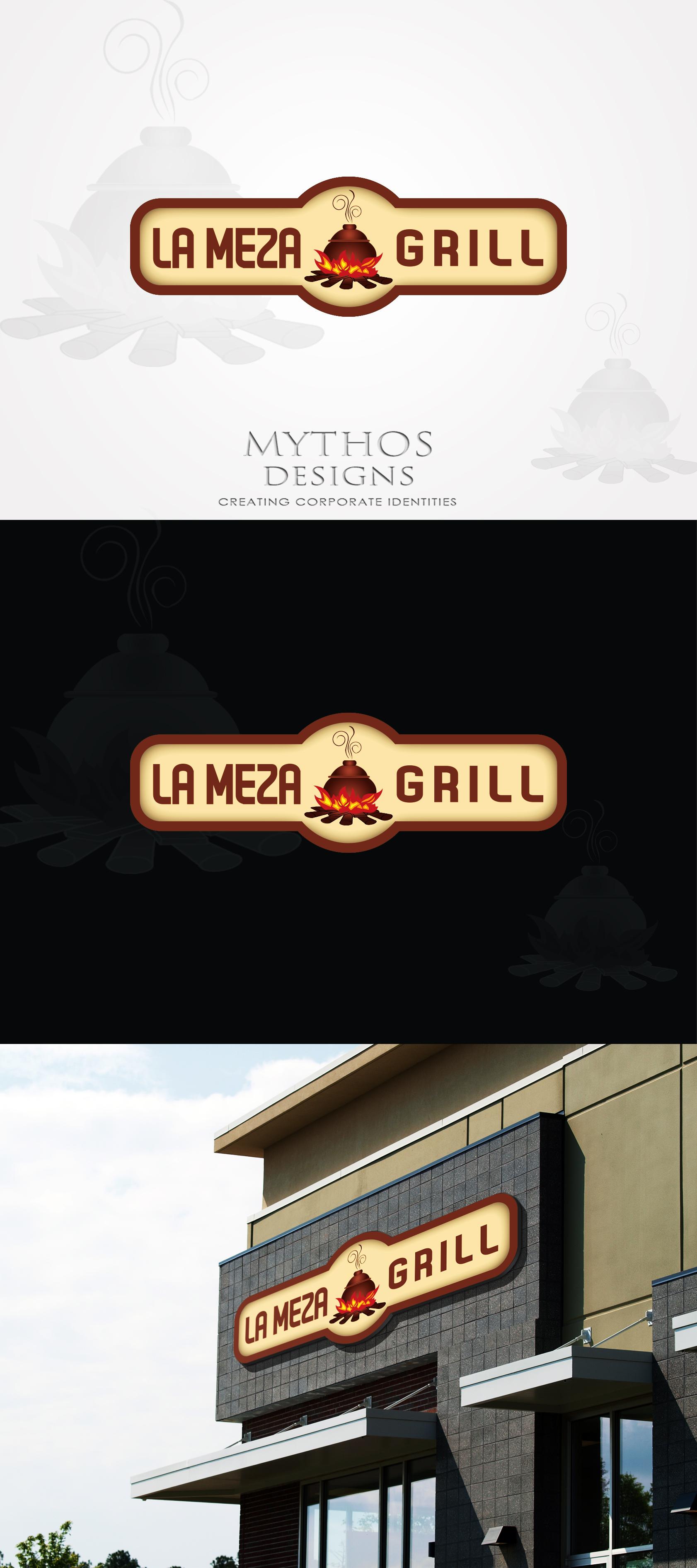 Logo Design by Mythos Designs - Entry No. 85 in the Logo Design Contest Inspiring Logo Design for La Meza Grill Ltd..