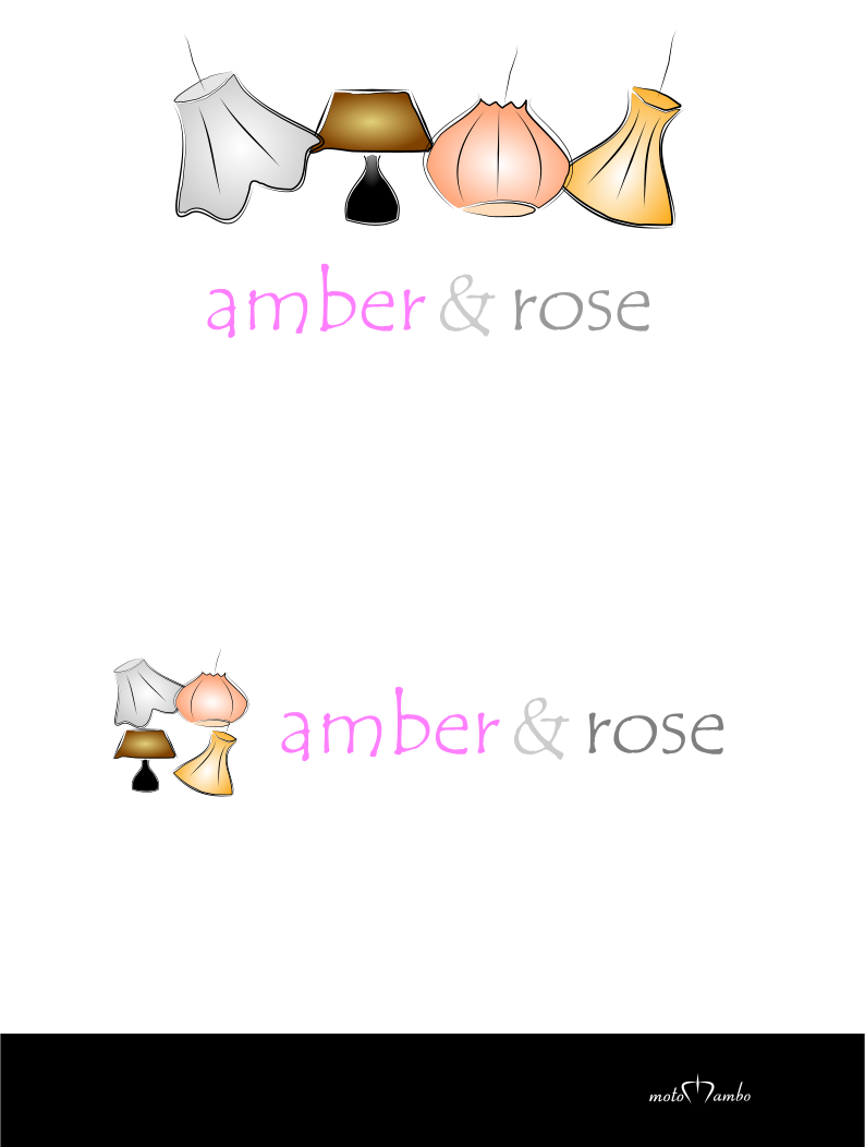 Logo Design by Nimrod Kabiru - Entry No. 54 in the Logo Design Contest Creative Logo Design for Amber & Rose.
