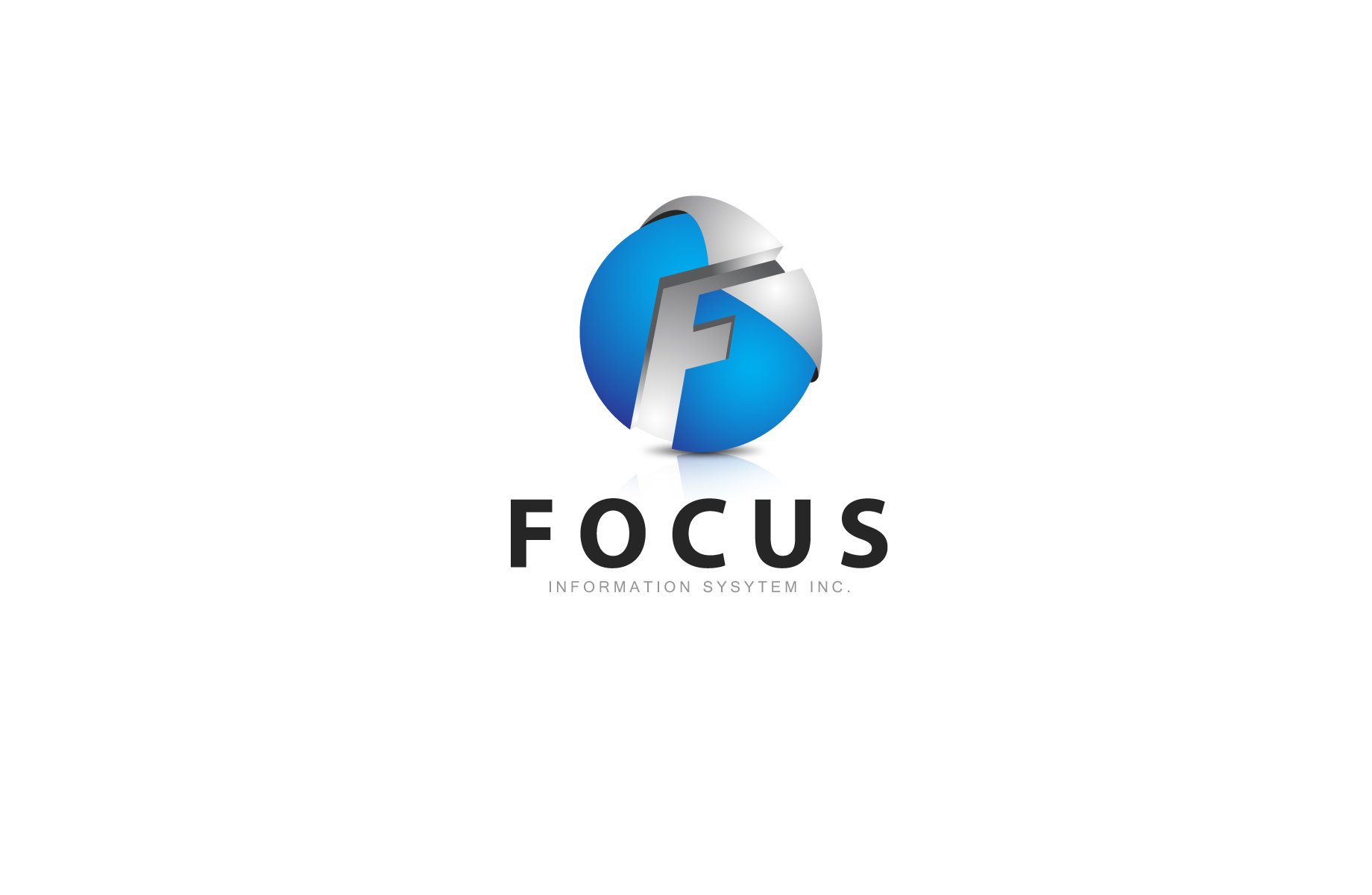 Logo Design by Jan Chua - Entry No. 36 in the Logo Design Contest Artistic Logo Design for Focus Information Systems, Inc..