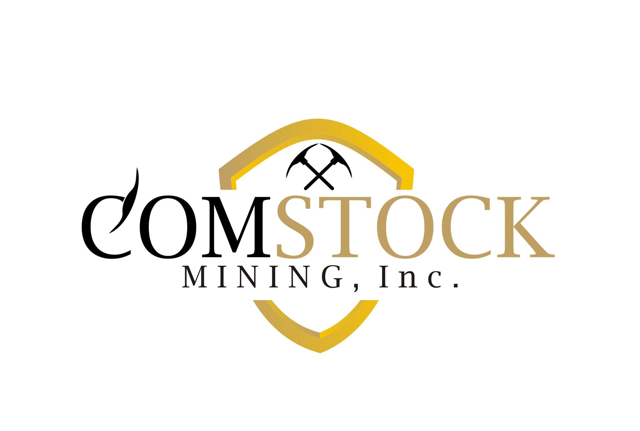 Logo Design by Yuda Hermawan - Entry No. 151 in the Logo Design Contest Captivating Logo Design for Comstock Mining, Inc..