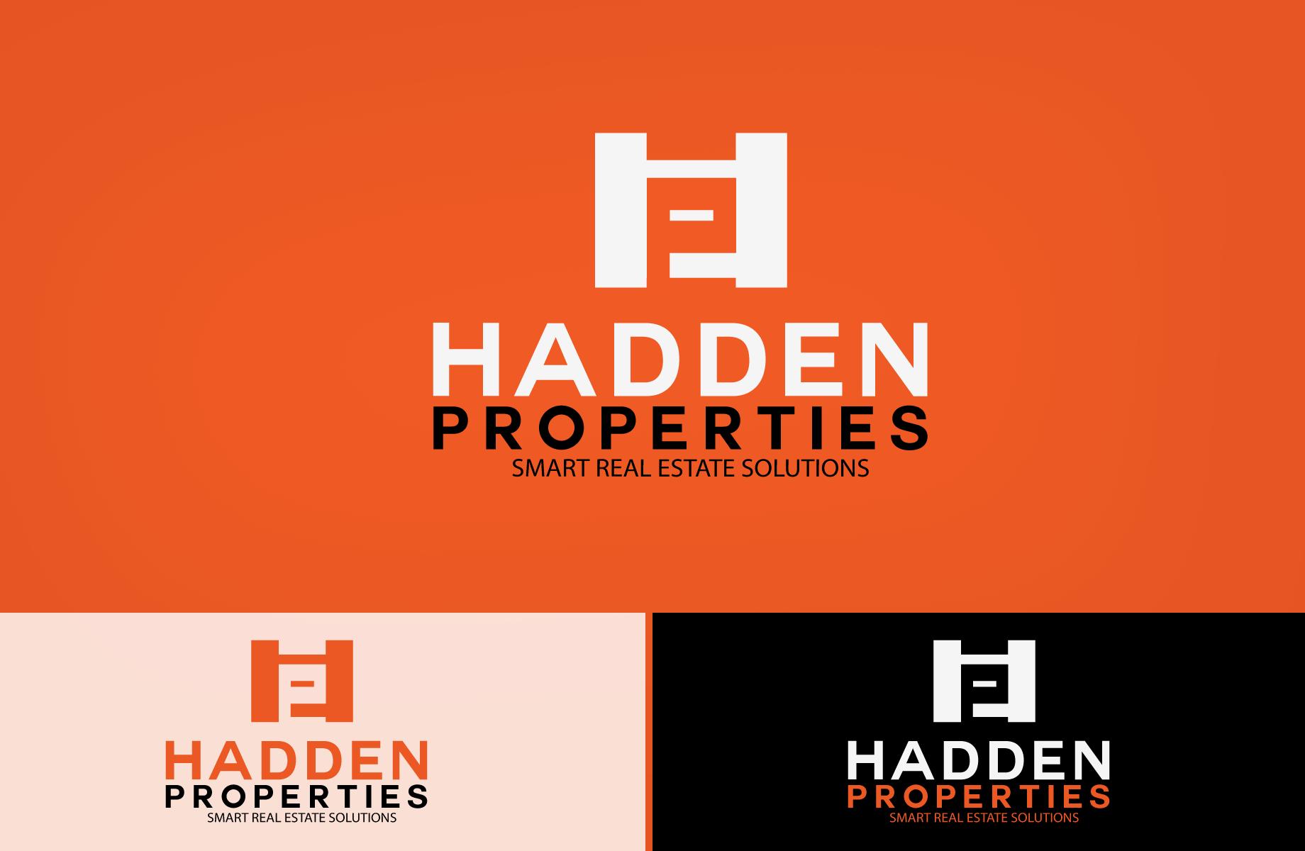Logo Design by Jan Chua - Entry No. 187 in the Logo Design Contest Artistic Logo Design for Hadden Properties.