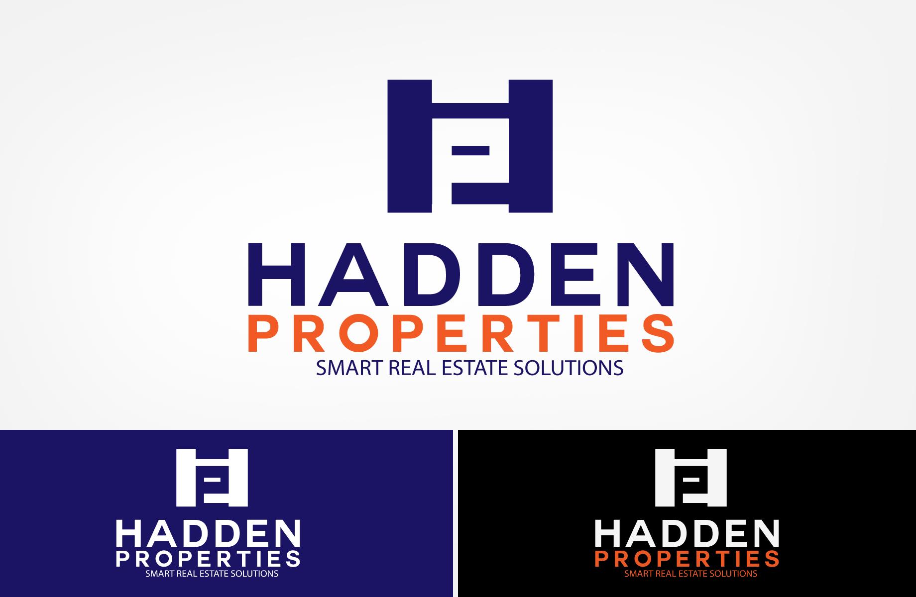 Logo Design by Jan Chua - Entry No. 188 in the Logo Design Contest Artistic Logo Design for Hadden Properties.