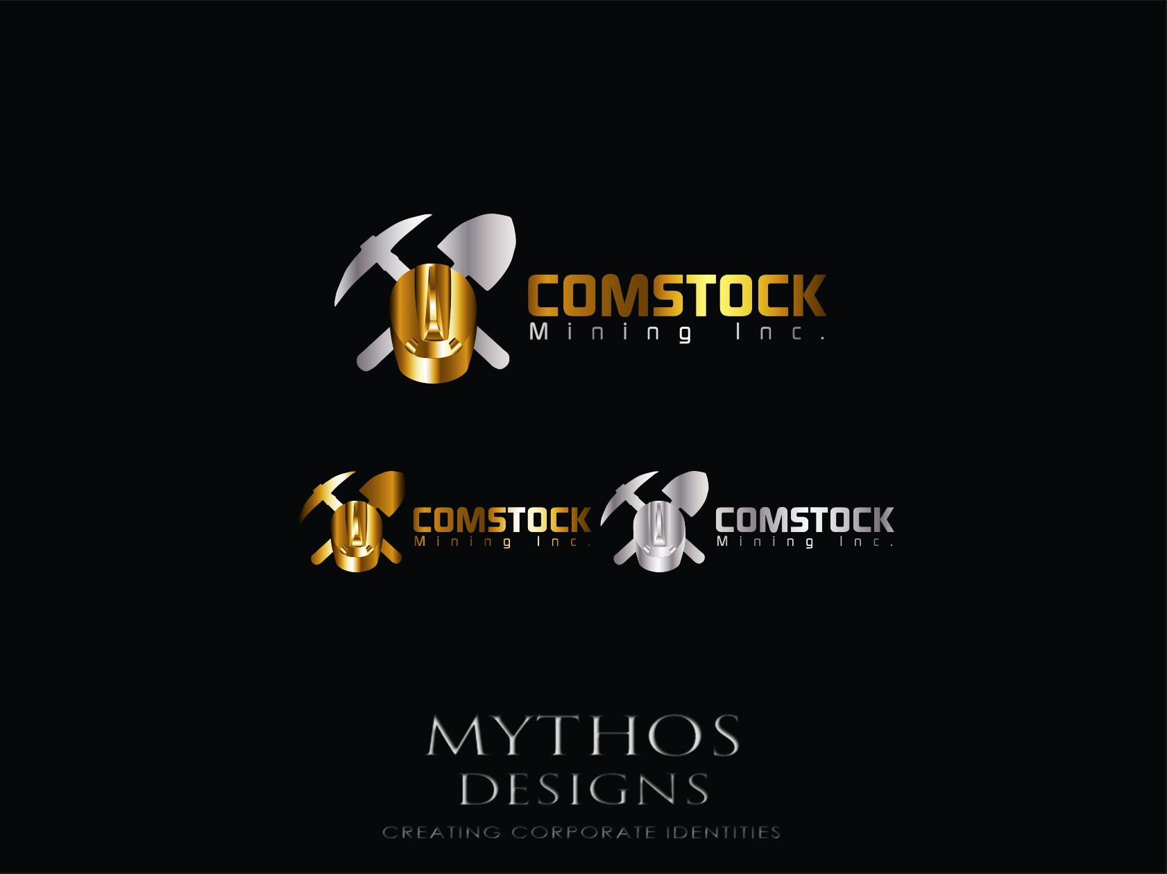 Logo Design by Mythos Designs - Entry No. 162 in the Logo Design Contest Captivating Logo Design for Comstock Mining, Inc..