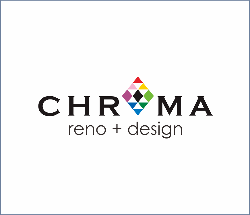 Logo Design by Armada Jamaluddin - Entry No. 239 in the Logo Design Contest Inspiring Logo Design for Chroma Reno+Design.