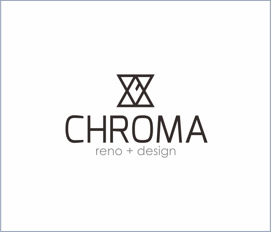 Logo Design by Armada Jamaluddin - Entry No. 240 in the Logo Design Contest Inspiring Logo Design for Chroma Reno+Design.
