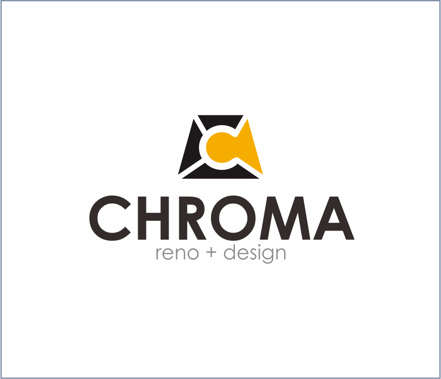 Logo Design by Armada Jamaluddin - Entry No. 241 in the Logo Design Contest Inspiring Logo Design for Chroma Reno+Design.