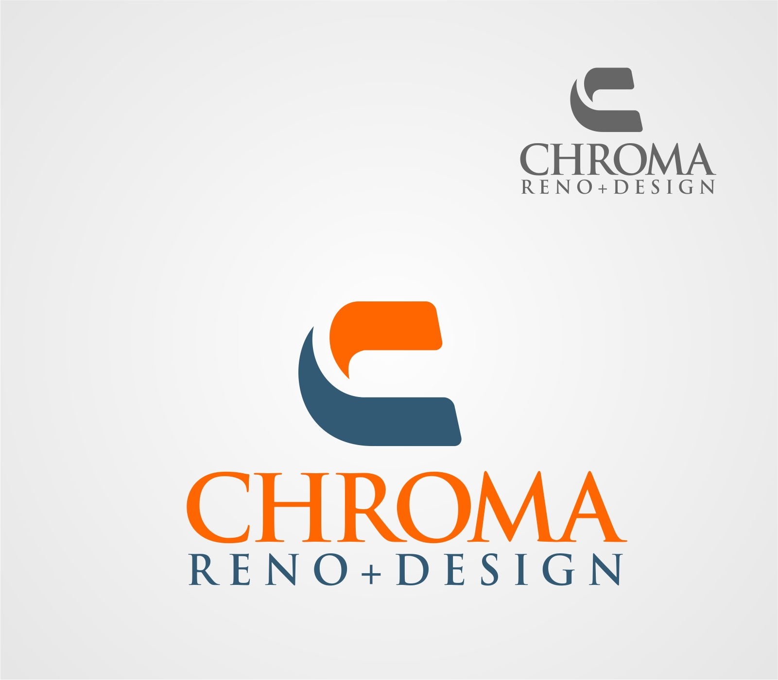 Logo Design by Reivan Ferdinan - Entry No. 242 in the Logo Design Contest Inspiring Logo Design for Chroma Reno+Design.