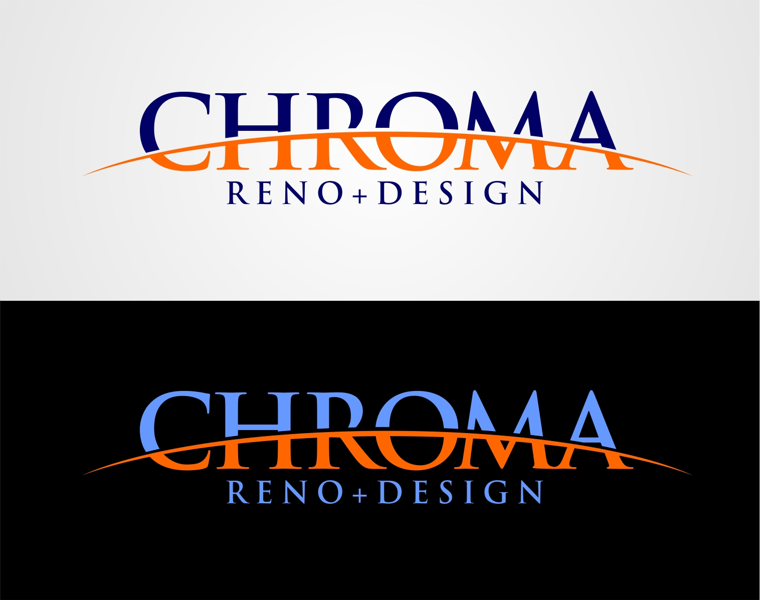 Logo Design by Reivan Ferdinan - Entry No. 243 in the Logo Design Contest Inspiring Logo Design for Chroma Reno+Design.