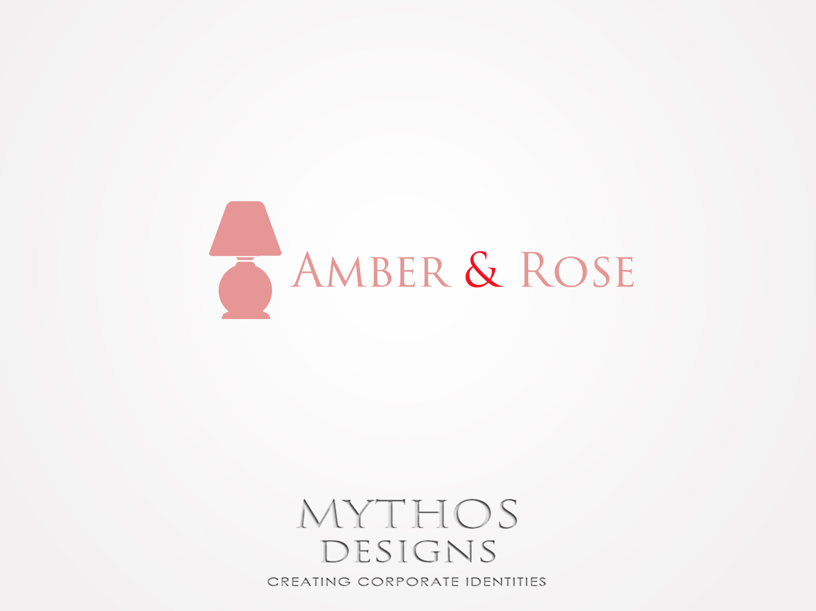 Logo Design by Mythos Designs - Entry No. 58 in the Logo Design Contest Creative Logo Design for Amber & Rose.