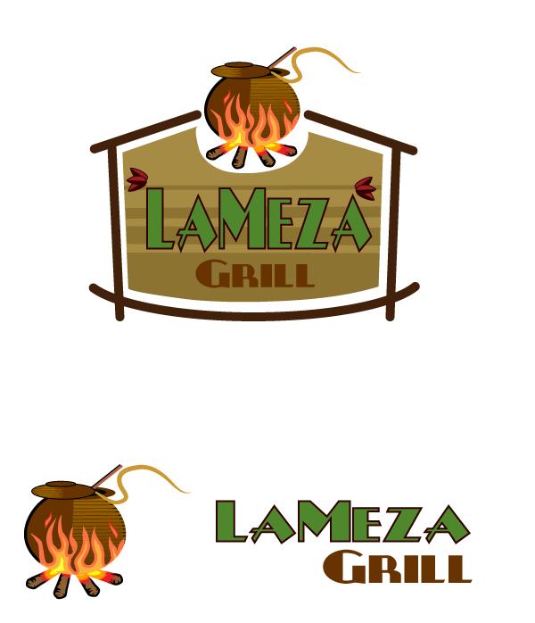 Logo Design by viewbee - Entry No. 91 in the Logo Design Contest Inspiring Logo Design for La Meza Grill Ltd..