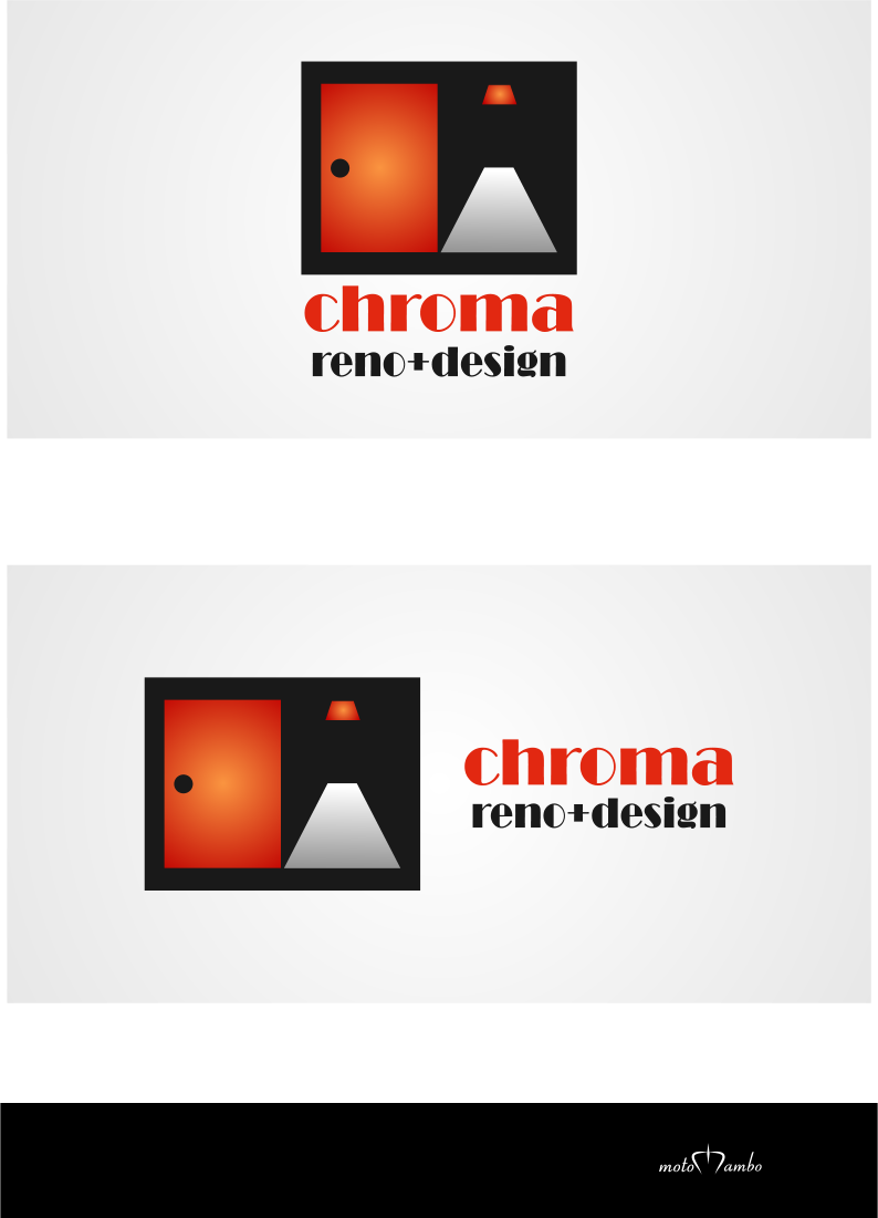 Logo Design by Nimrod Kabiru - Entry No. 248 in the Logo Design Contest Inspiring Logo Design for Chroma Reno+Design.