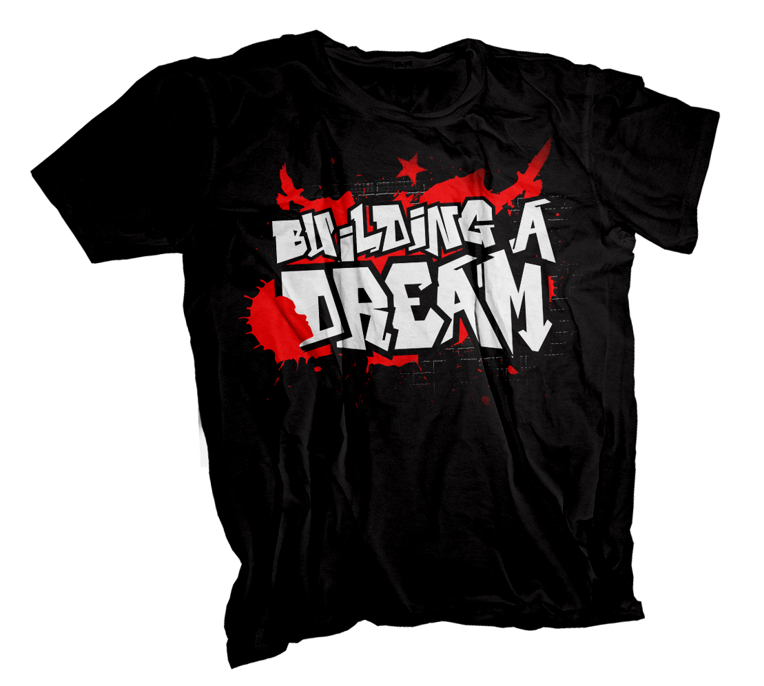 "Clothing Design by SERO - Entry No. 8 in the Clothing Design Contest Artistic Clothing Design... Represents the concept ""building a dream"" , which focuses on a teenage a."