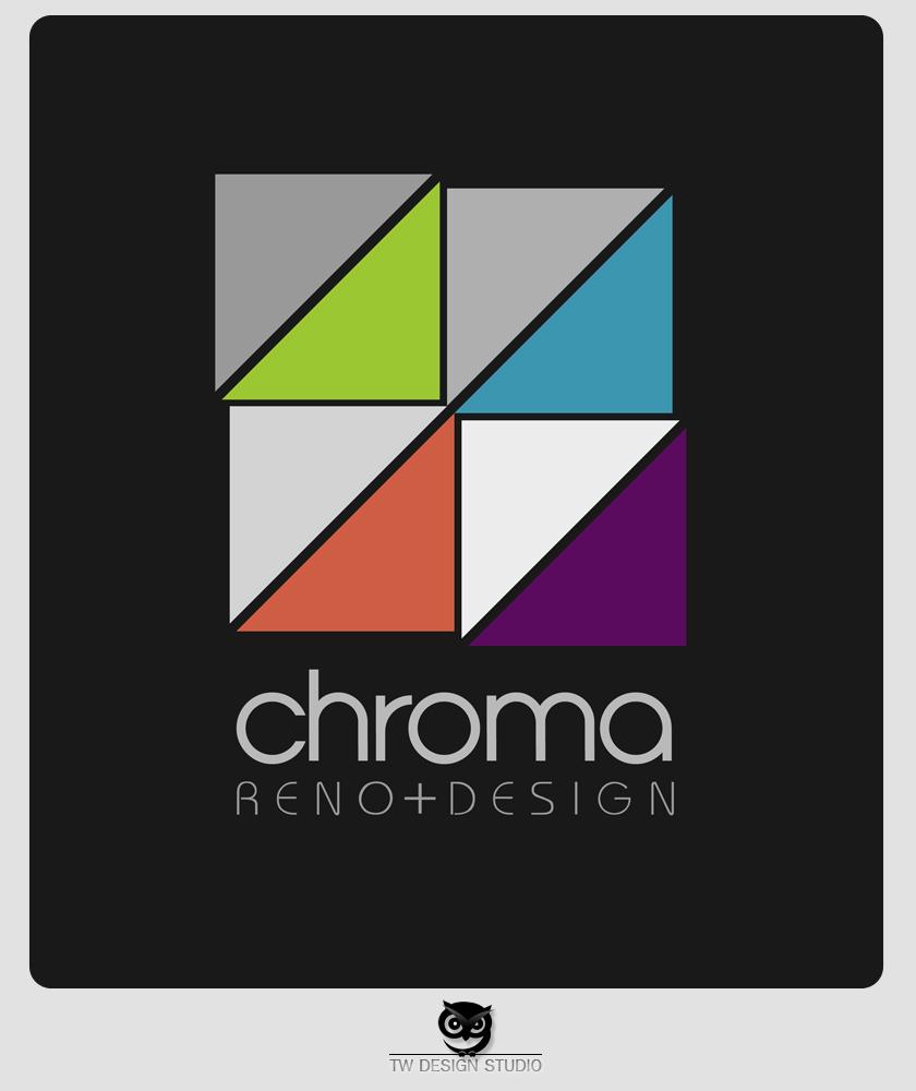 Logo Design by Private User - Entry No. 253 in the Logo Design Contest Inspiring Logo Design for Chroma Reno+Design.