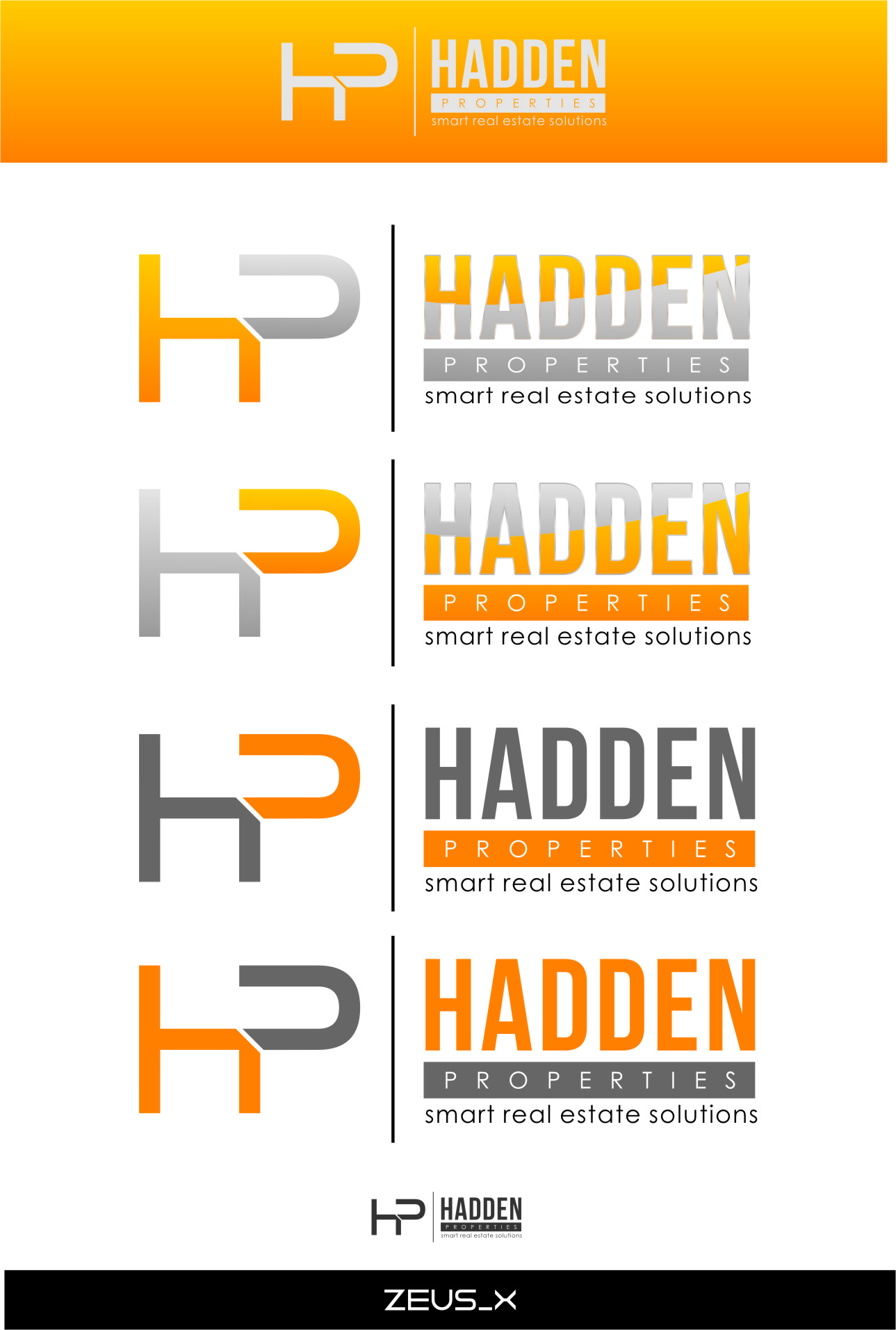 Logo Design by Ngepet_art - Entry No. 194 in the Logo Design Contest Artistic Logo Design for Hadden Properties.