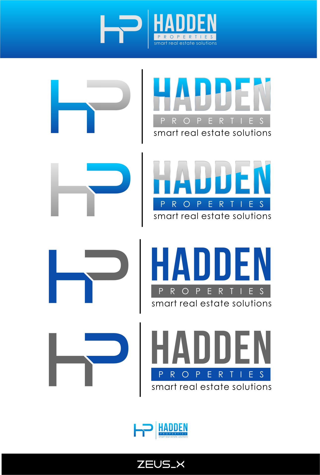 Logo Design by Ngepet_art - Entry No. 195 in the Logo Design Contest Artistic Logo Design for Hadden Properties.