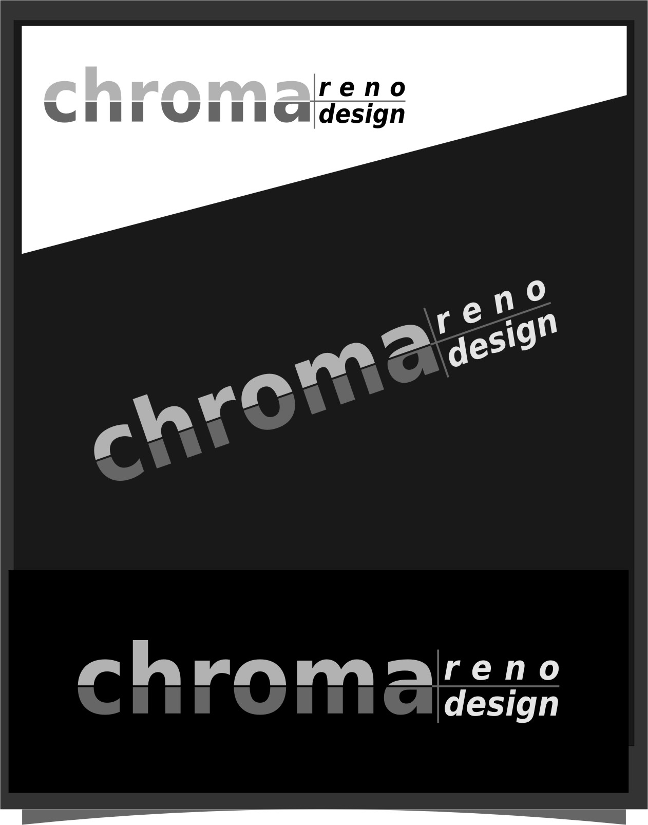 Logo Design by RoSyid Rono-Rene On Java - Entry No. 259 in the Logo Design Contest Inspiring Logo Design for Chroma Reno+Design.